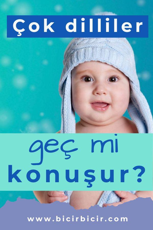 çift dilli çok dilli çocuklar geç mi konuşur